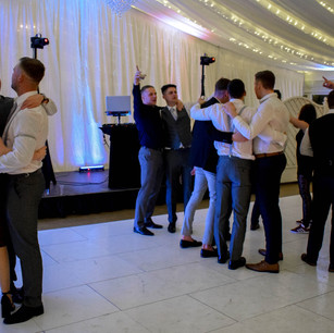 Wedding DJ guests at Parklands Quendon Hall