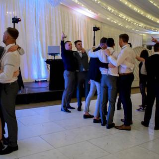 Wedding DJ guests at Parklands Quendon Hall