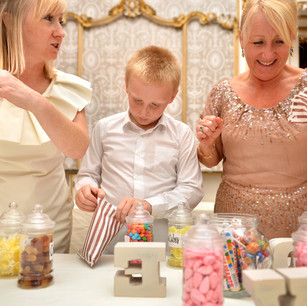A great idea wedding activity for the evening guests.