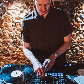 Rustic DJ at Rustic Wedding Venue