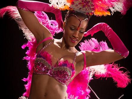 Samba Dancer in Saint Louis