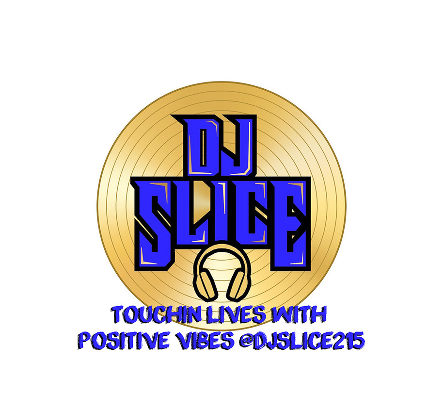 DJ Slice Record Logo - Touchin Lives