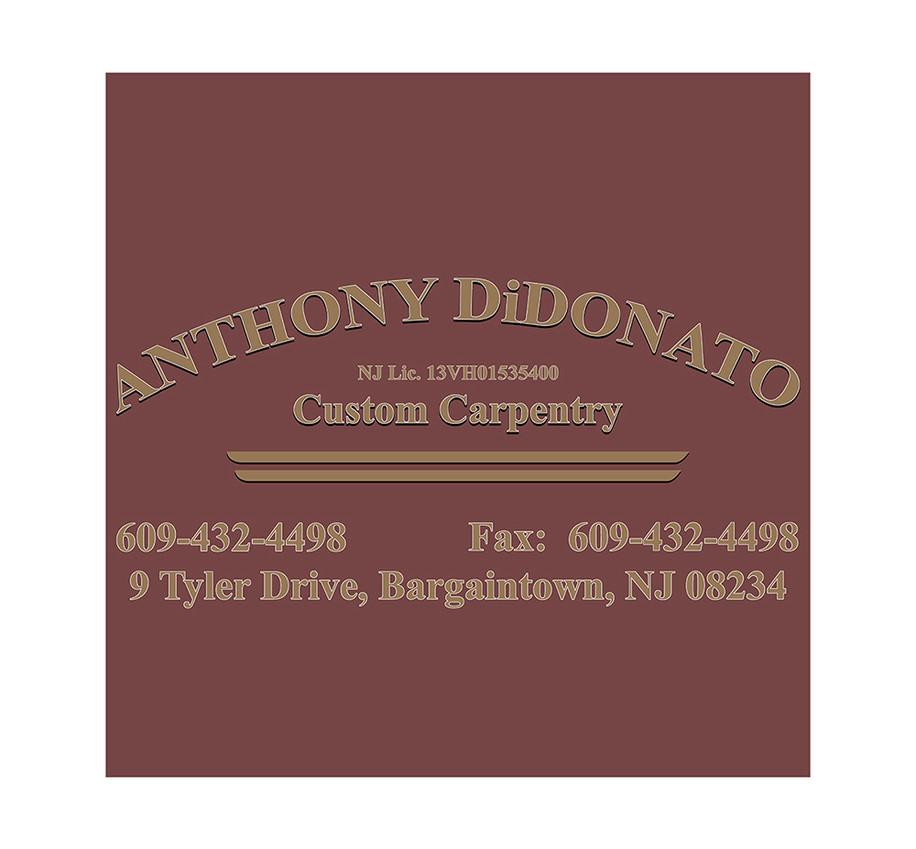 DiDonato Custom Carpentry Logo