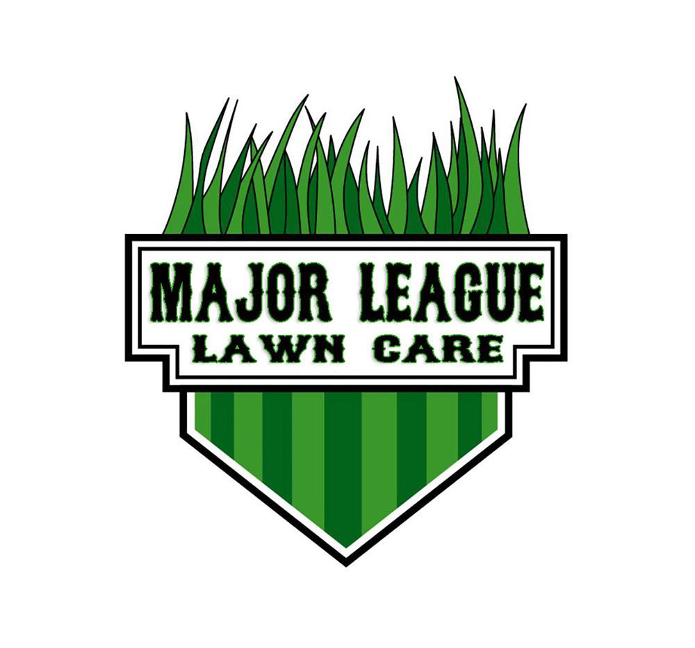 Major League Lawn Care Logo