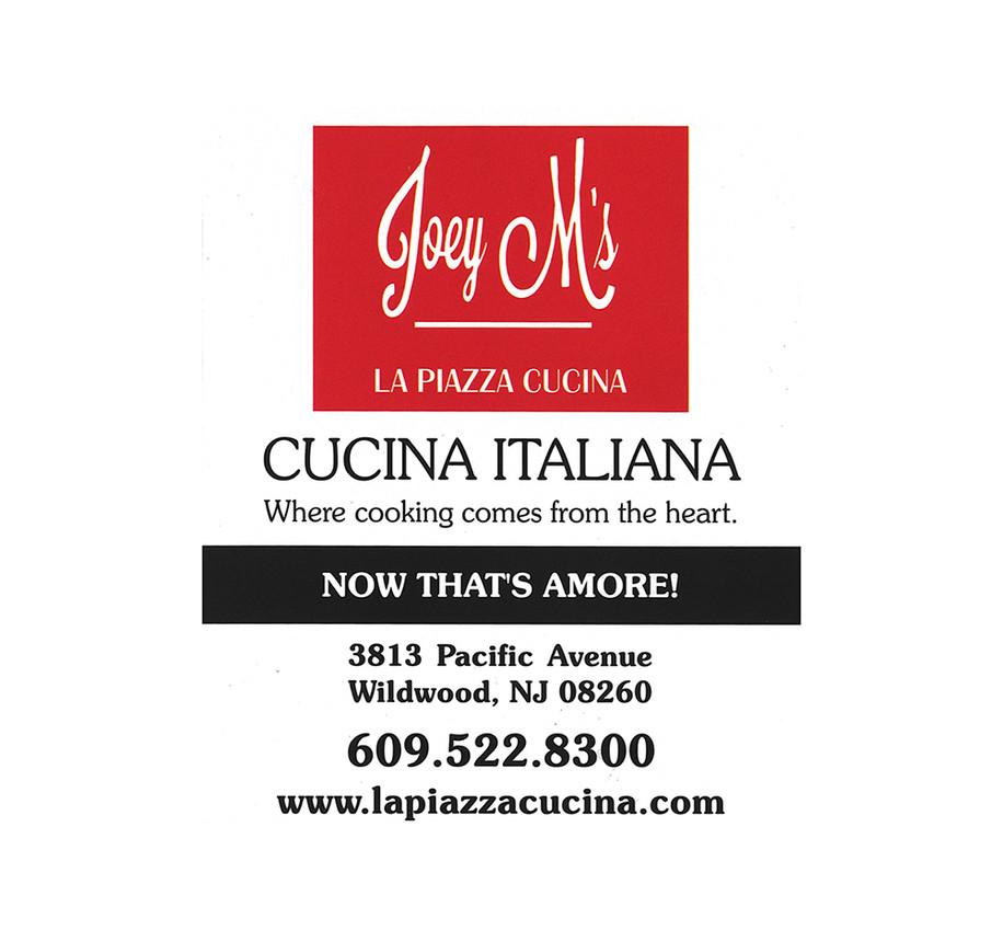 Joey M Cucina Italiana Logo