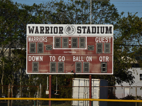 Junior Warriors to play their last game of the season at Maxwell Field
