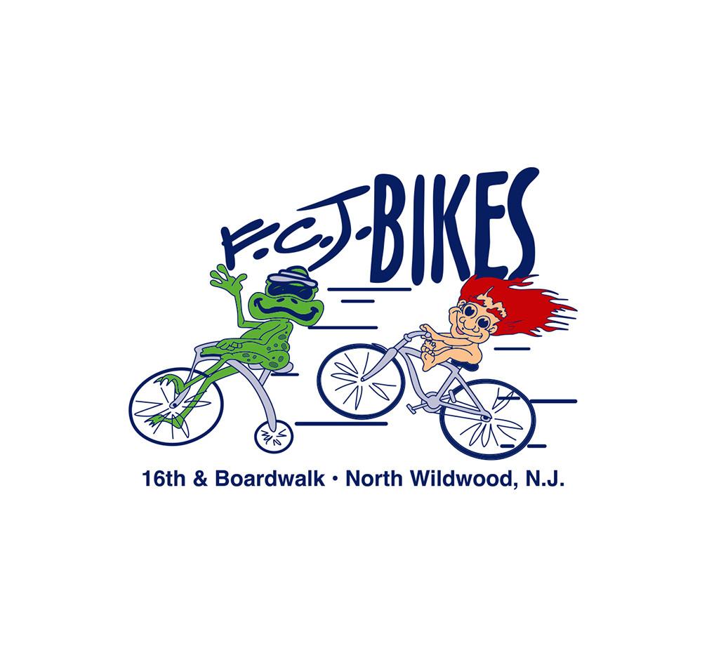 FCJ Bikes Logo