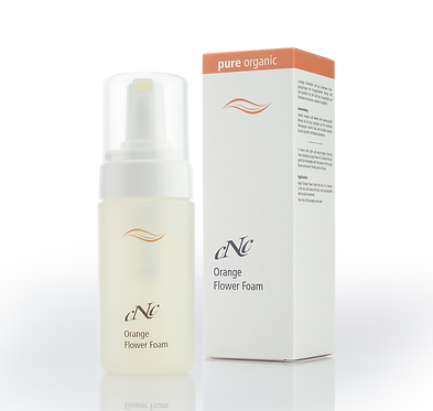 CNC Pure Organic Orange Flower Foam 100ml - Alle Hauttypen