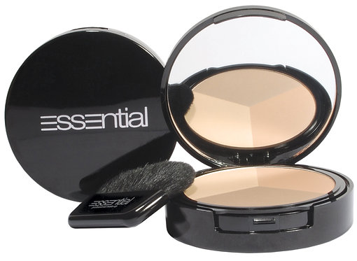 Essential Naked Compact Face Powder Trio 10g