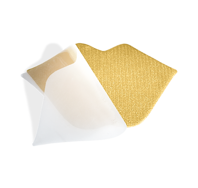 CNC Hydrogel Gold Lip Mask 24 Karat Gold 2 Stück - Alle Hauttypen