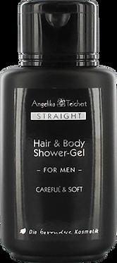 Straight for men Hair & Body Shower Gel 200ml