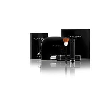 Marc Inbane Elegance Set - Spray + Exfoliator + Puderpinsel + Handschuh + Tasche