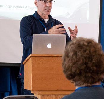 Michael Haldas Delivers Lecture at Doxacon 2019