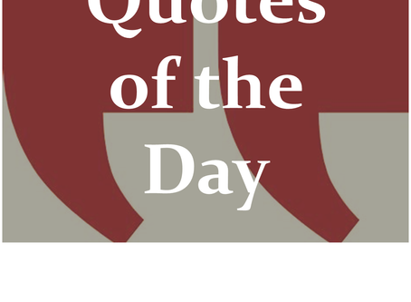 Quotes of the Day for September 29, 2020 – Thoughts on Christ, us, and the quest for fame