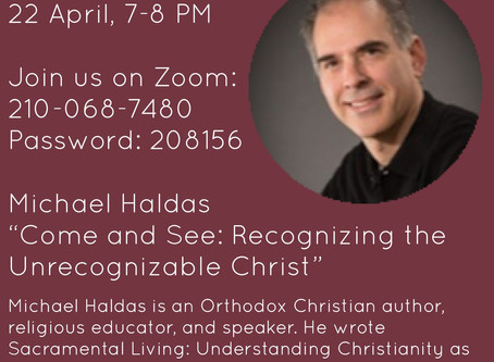 Come and See: Recognizing the Unrecognizable Christ