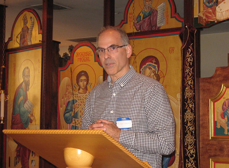 Michael Haldas delivers lecture at Doxamoot - the first Orthodox Christian Tolkien Conference