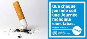 Journée Mondiale Sans Tabac 31 mai 2021 : s'engager à arrêter !