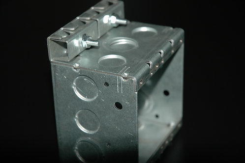 GRADY BOX 4x4 Metal Outlet & Device Boxes