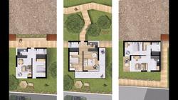 Planta apartamentos T1