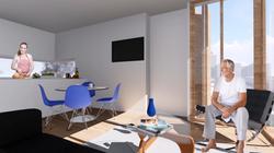 Sala apartamentos T1