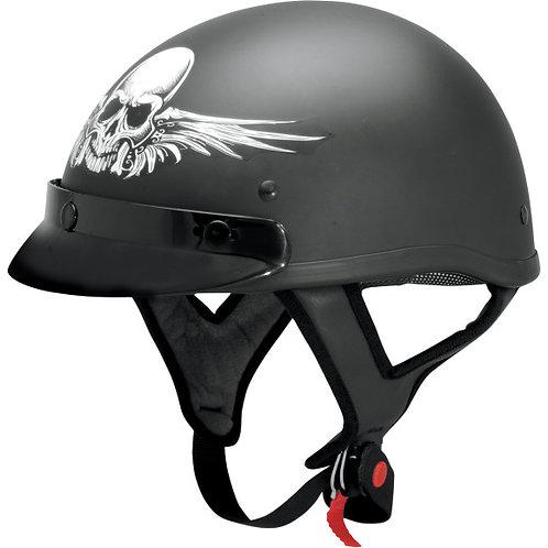 AFX FX70 SKULL FLAT BLACK