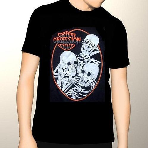 Men's Graphic T-Shirt Logo & Skeletons