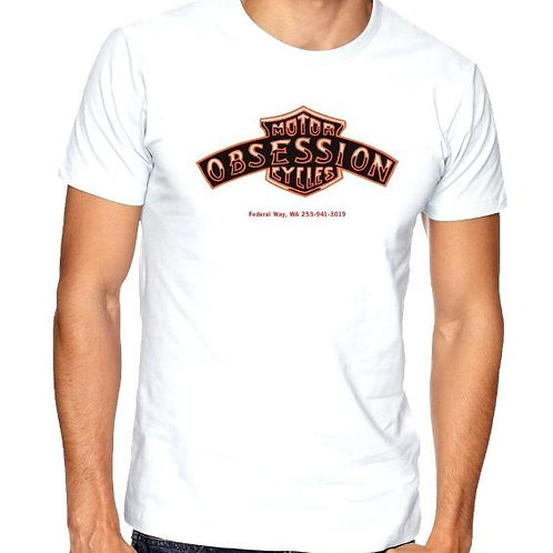 Men's Graphic T-Shirt Obsession Motorycles