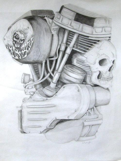 V-Twin Skull