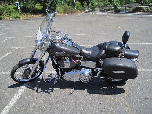 2007 Harley Davidson FXDWG Dyna Wide Glide.