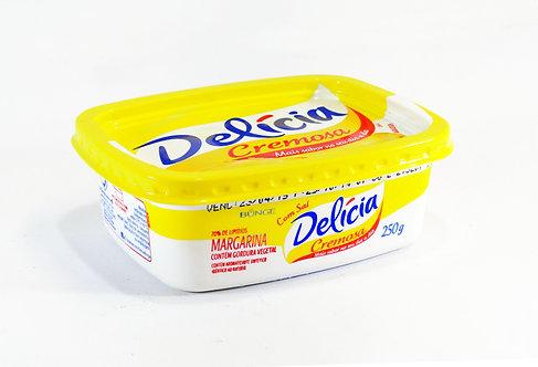 Margarina Delícia 250g c/Sal UN