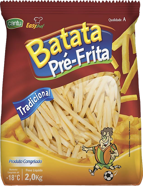 Batata Frita congelada Cantu 2Kg