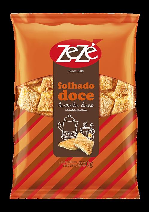 Biscoito Doce Folhado Zezê 300g