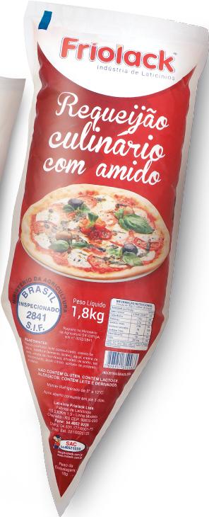 Requeijão Culinário 1,8 Kg Friolack