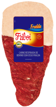 Fralda Bovina Congelada Friboi
