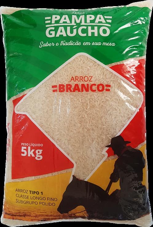Arroz Branco Pampa Gaúcho 5Kg