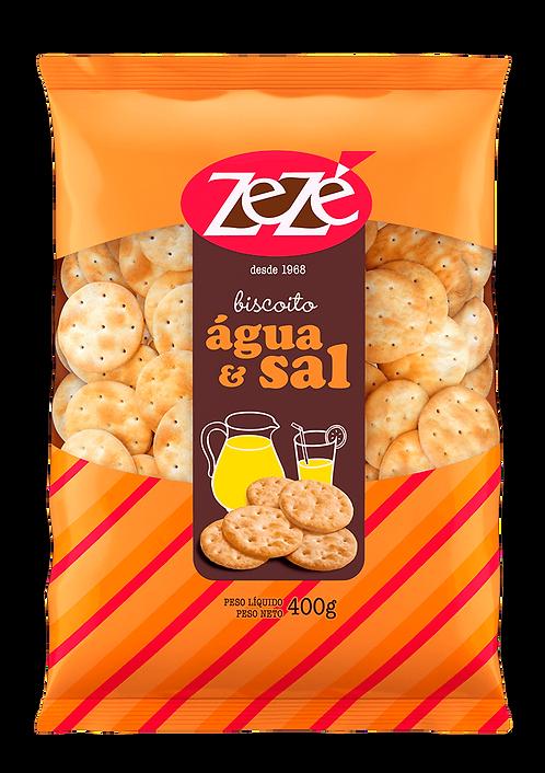 Biscoito Água & Sal ZeZê 400g