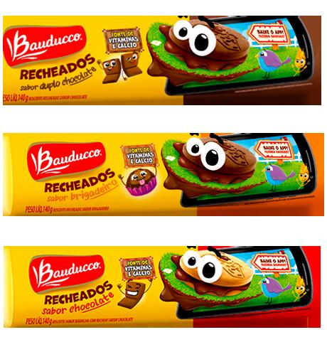 Biscoito Recheado 140g Bauducco