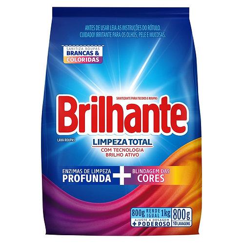 Detergente em pó Brilhante 800g