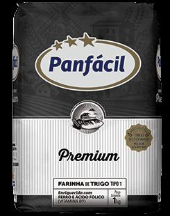 Farinha de Trigo 1Kg Premium Panfácil