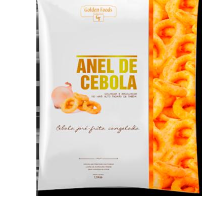 Anel de Cebola 1,1Kg Golden Foods