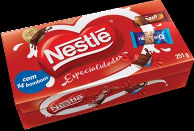 Caixa de Bombom Nestle 251g