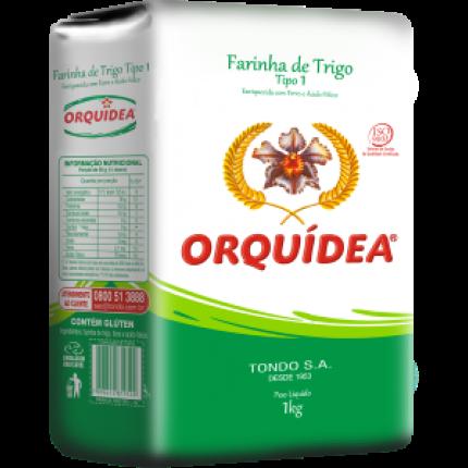 Farinha de Trigo Orquidea 1Kg