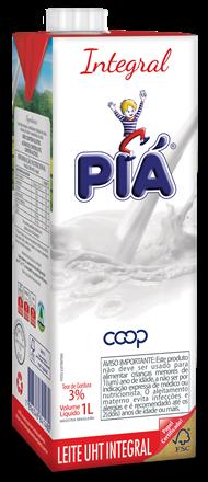 Leite integral 1L Pia