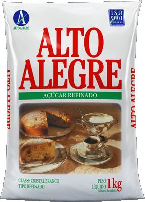 Açucar Refinado Alto Alegre 1Kg