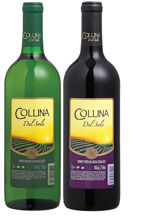 Vinhos Collina del Sole 750ML
