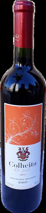 Vinho Bordô 750mL Colheita do Sul