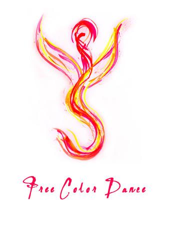 Free color dance