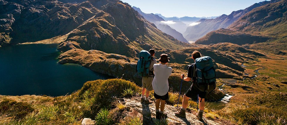 Healthy & Active_EXPERIENCE_-Routeburn-T
