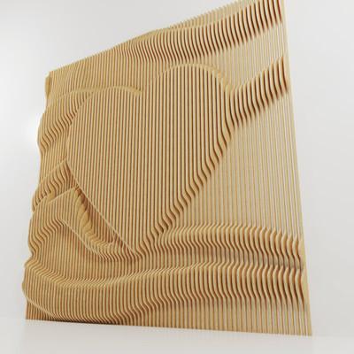 Heart Parametric Wall