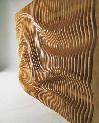 Waves Parametric Wall
